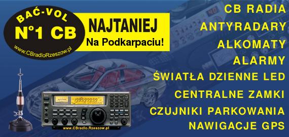 CB Radia, Antyradary, Alkomaty, Alarmy Rzeszów