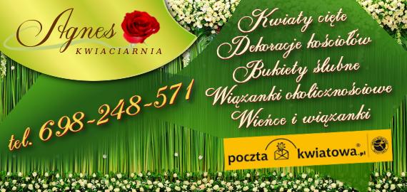 Kwiaciarnia AGNES - Poczta kwiatowa w Rzeszowie