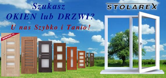 STOLAREX - OKNA i DRZWI - Szybko i Tanio